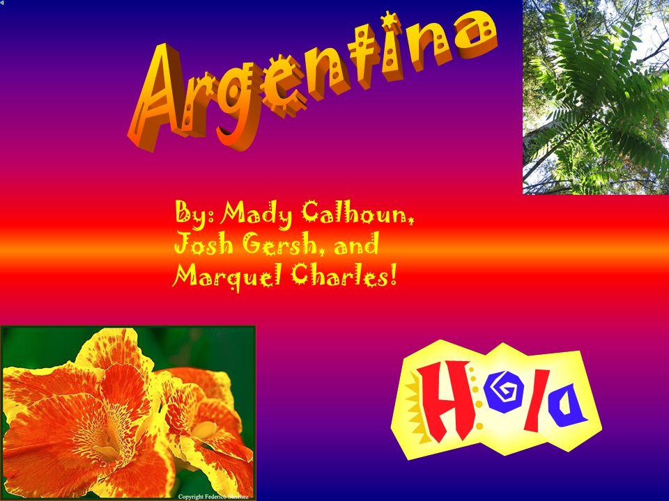 By: Mady Calhoun, Josh Gersh, and Marquel Charles!