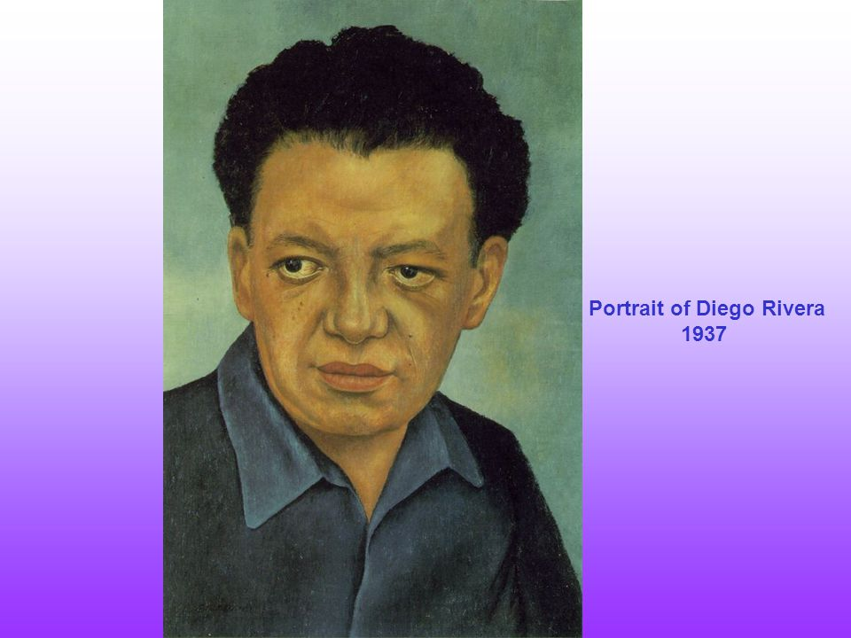 Portrait of Diego Rivera 1937