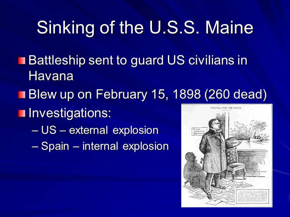 Sinking of the U.S.S.