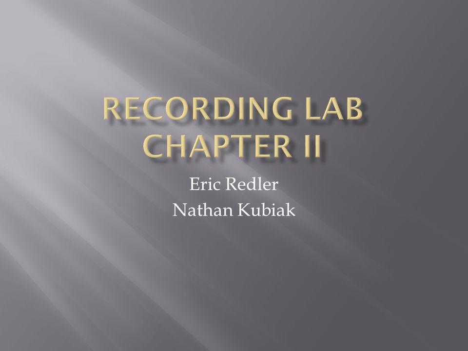Eric Redler Nathan Kubiak
