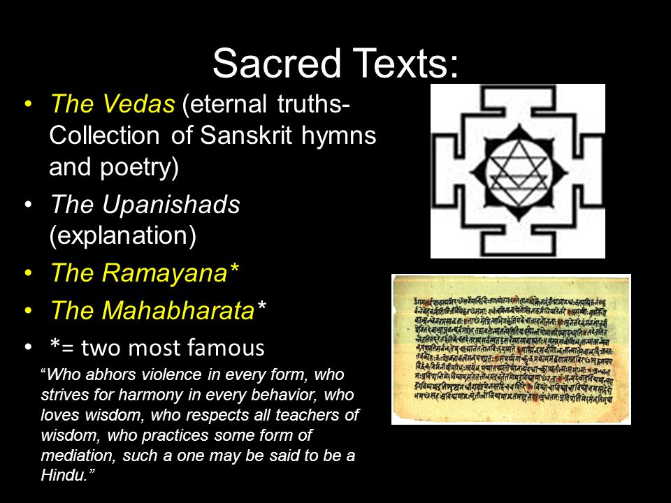 Intro to Hinduism Main religion in India No founder/ formal church (changed over thousands of years- early as 3000 BC under Dravidians- Aryan invasion