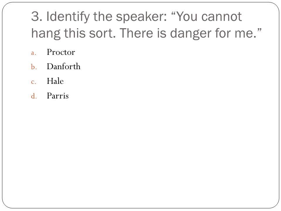 4.Explain Danforth's reason that a pardon would not be a good idea.