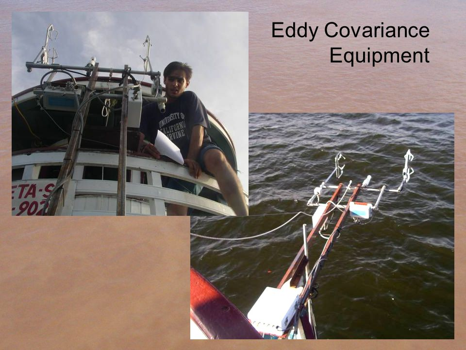 Eddy Covariance Equipment