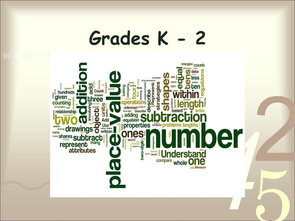 Grades K - 2