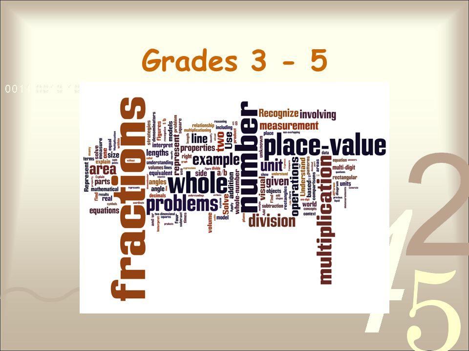 Grades 3 - 5