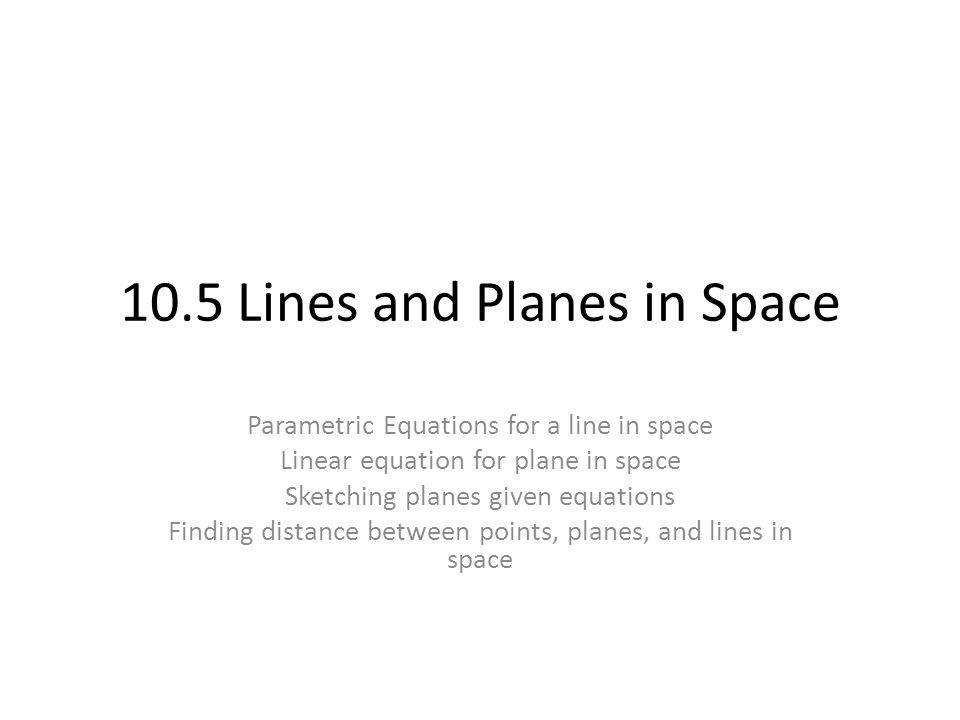 Scenario 2: Three non-collinear points