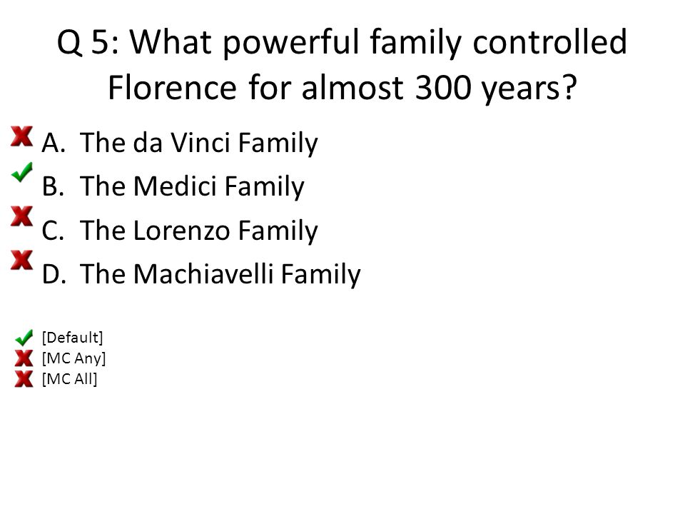 Q 16: What river is Florence located along.