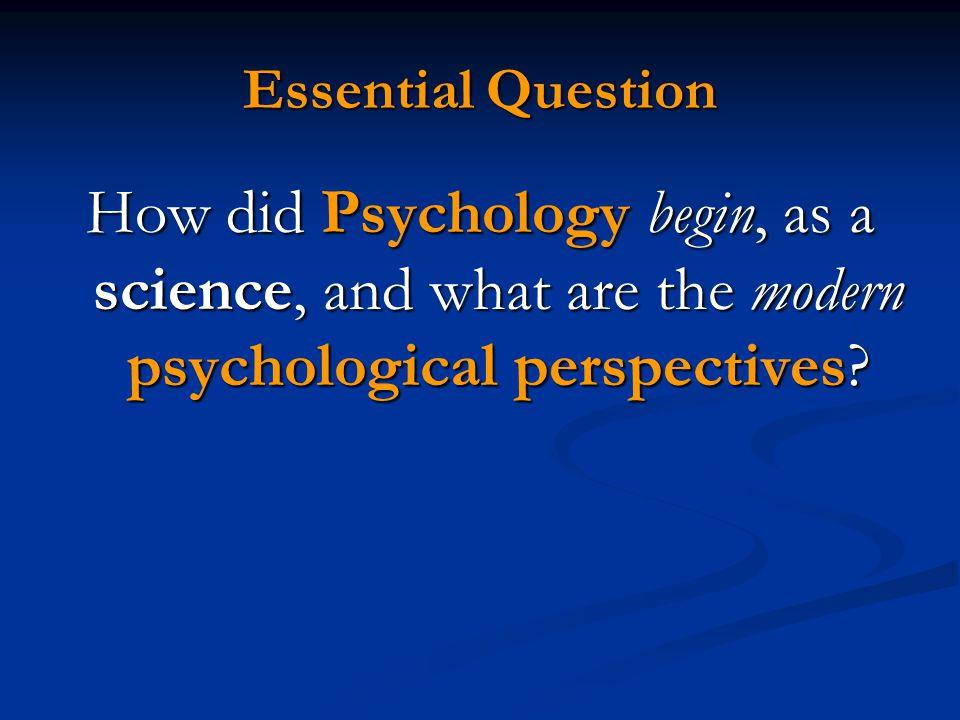 Unit 1 (A): Historical Approaches of Psychology Mr. McCormick A.P. Psychology