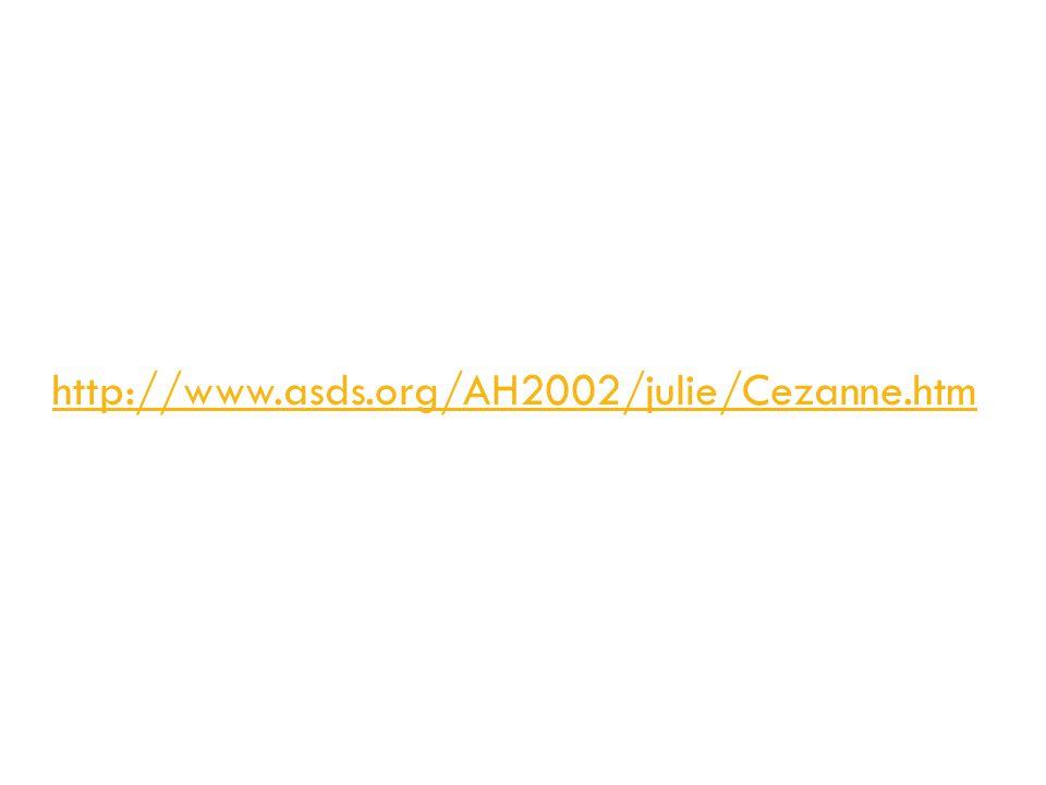 http://www.asds.org/AH2002/julie/Cezanne.htm