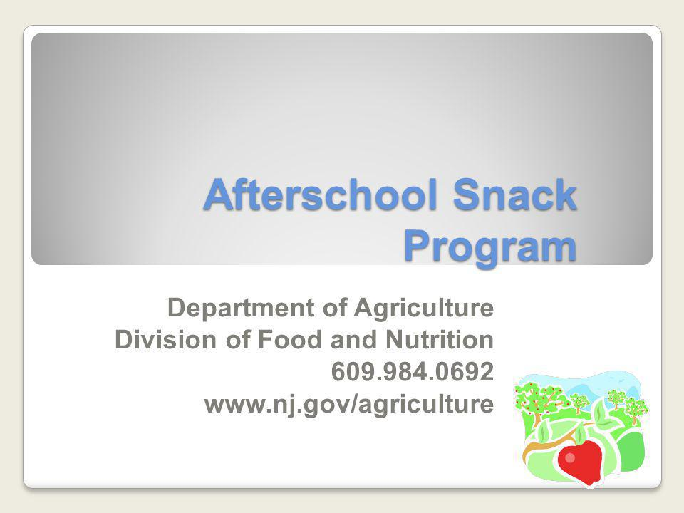 SFA Afterschool Snack Review The SFA must conduct a self-review of each after school snack operation twice per year.