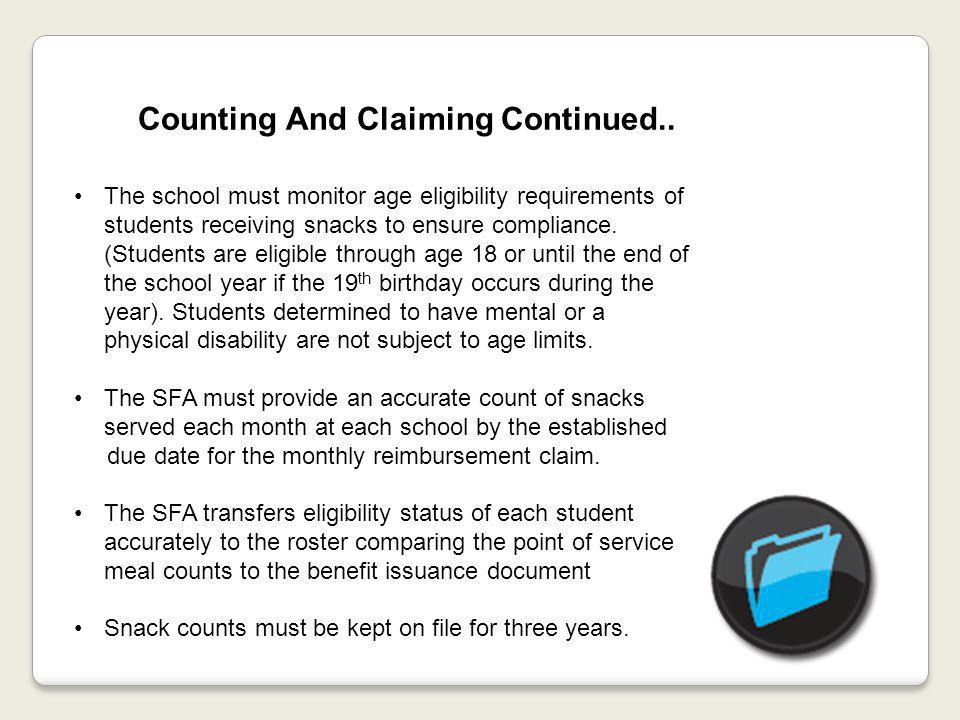 Counting And Claiming Continued..