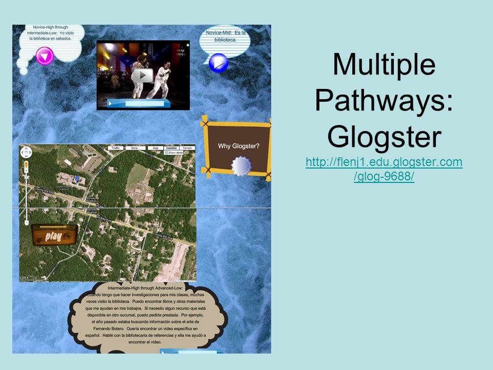 Multiple Pathways: Glogster http://flenj1.edu.glogster.com /glog-9688/ http://flenj1.edu.glogster.com /glog-9688/
