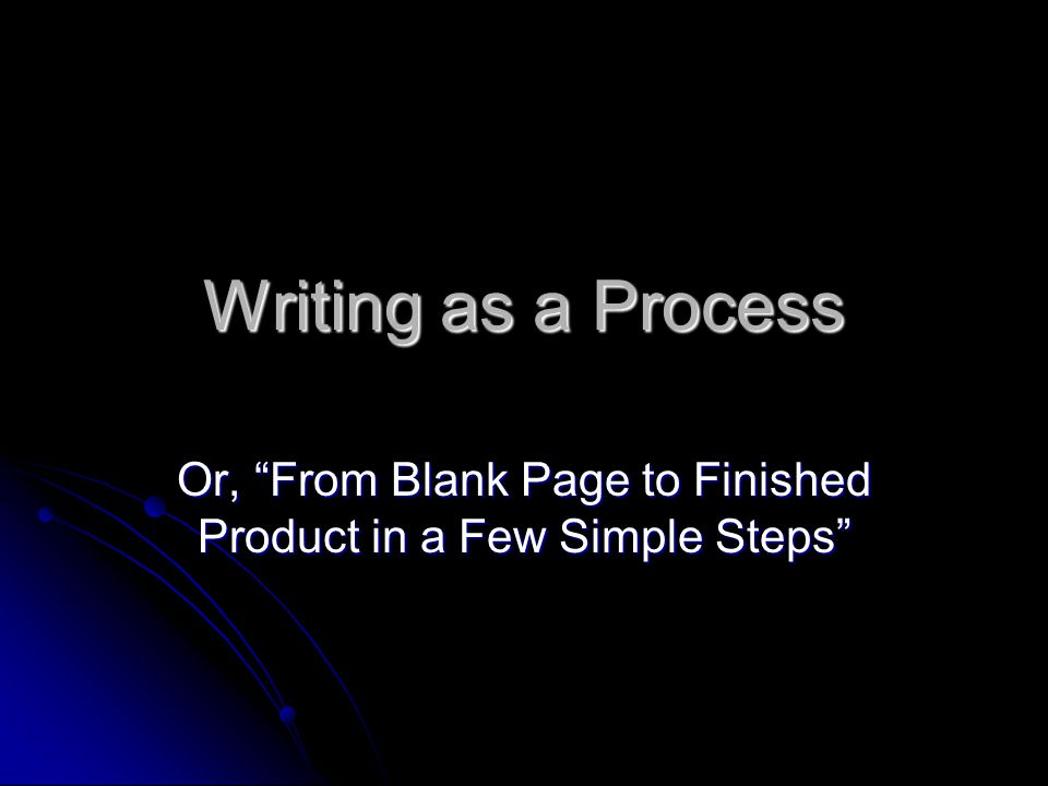 Staring at the blank page… Before you write down a single word, you need to PREWRITE.