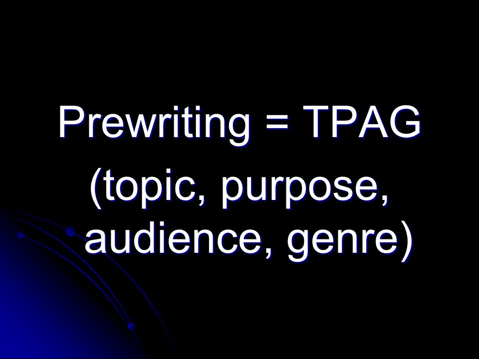 4A) Editing Checking the mechanics of your writing.