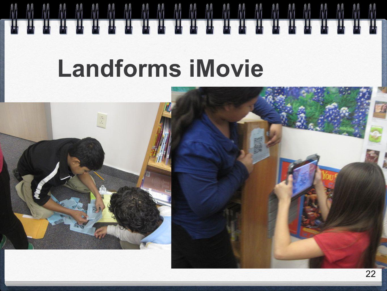22 Landforms iMovie