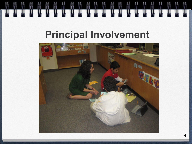 4 Principal Involvement