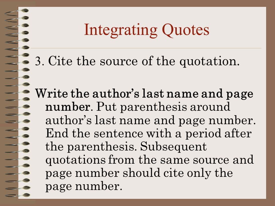 put quote introduction essay