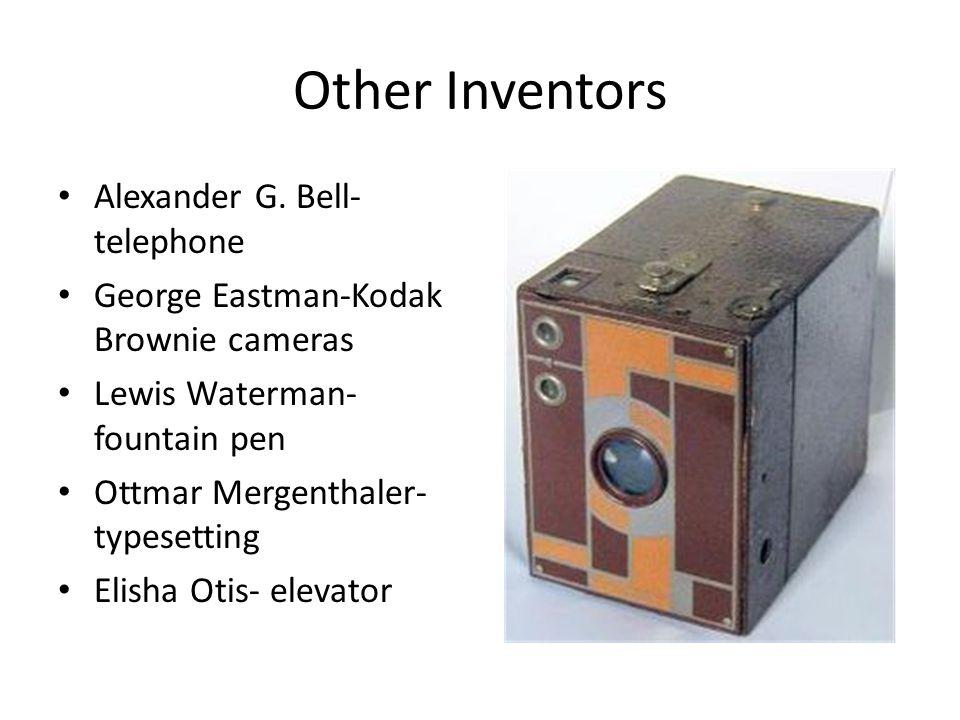Other Inventors Alexander G.