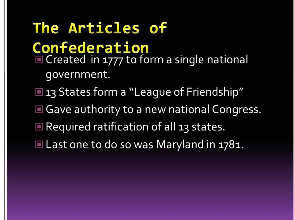 Many leaders in the colonies wanted a loose confederation of states. Why?