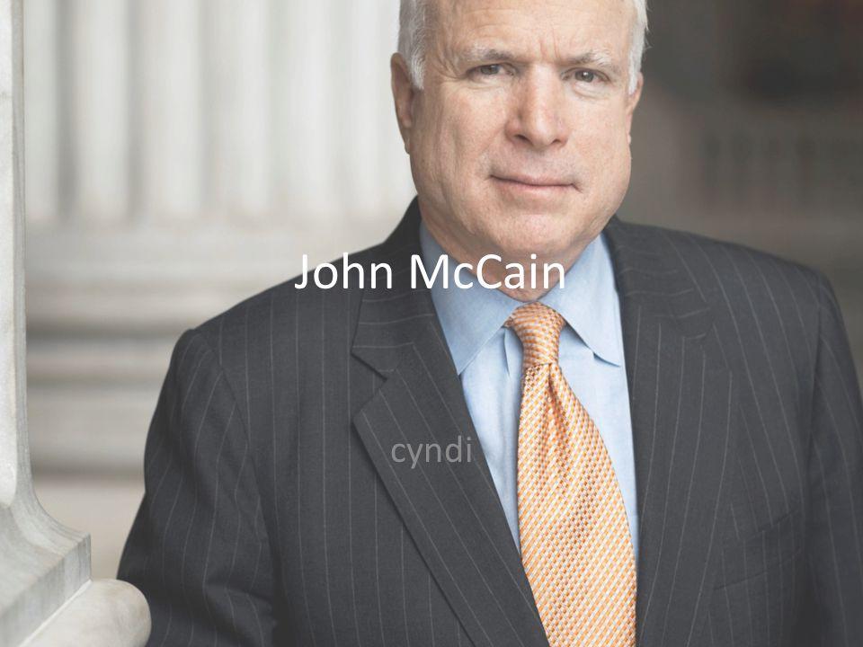 John McCain cyndi