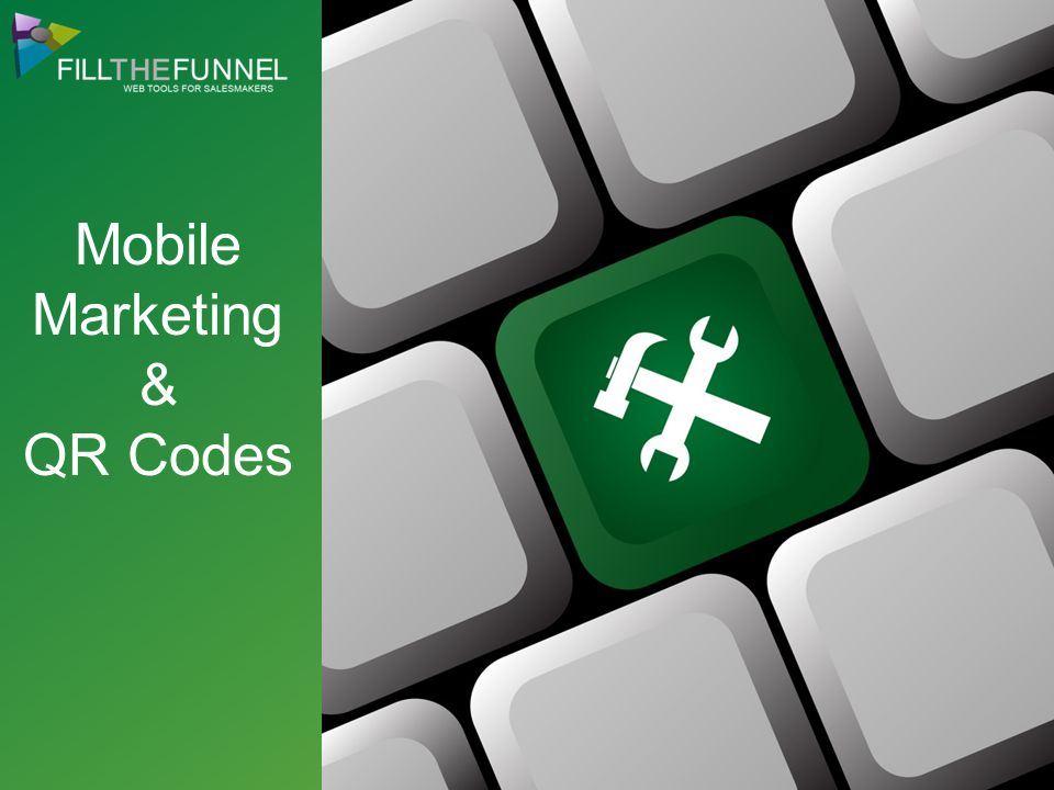 Mobile Marketing & QR Codes