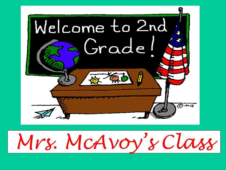 Mrs. McAvoy's Class