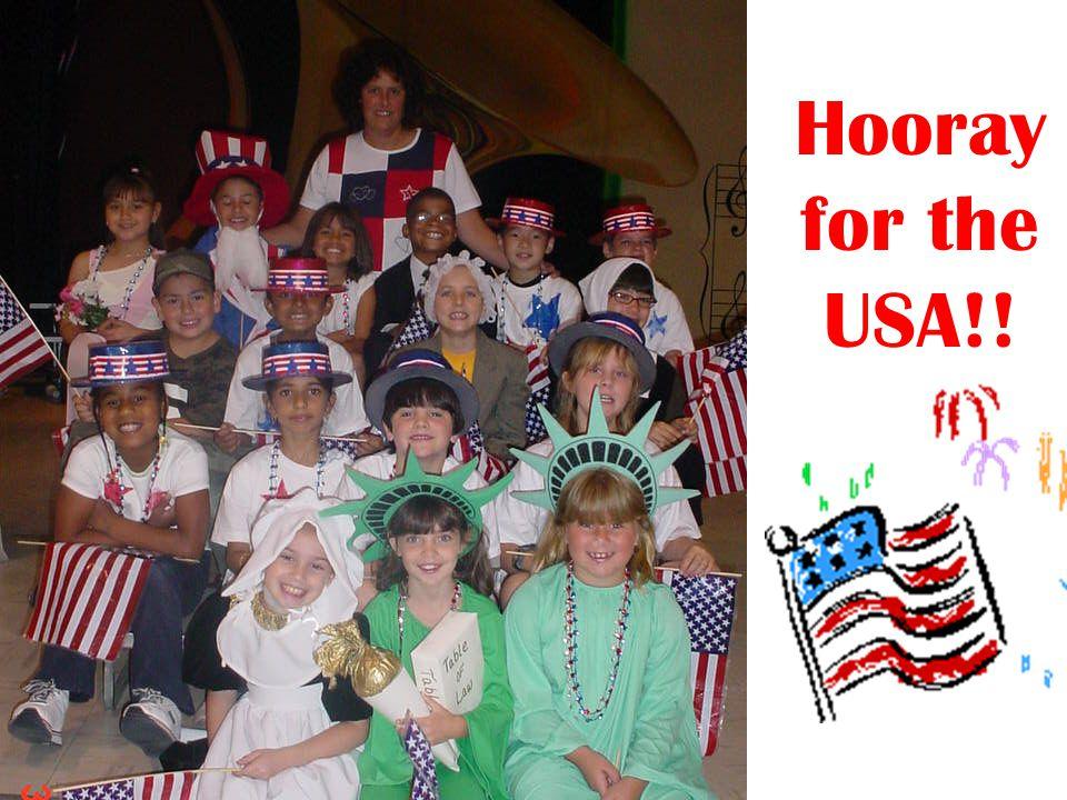 Hooray for the USA!!