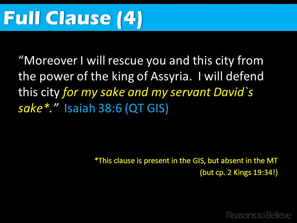 Moreover I will rescue you and this city from the power of the king of Assyria.