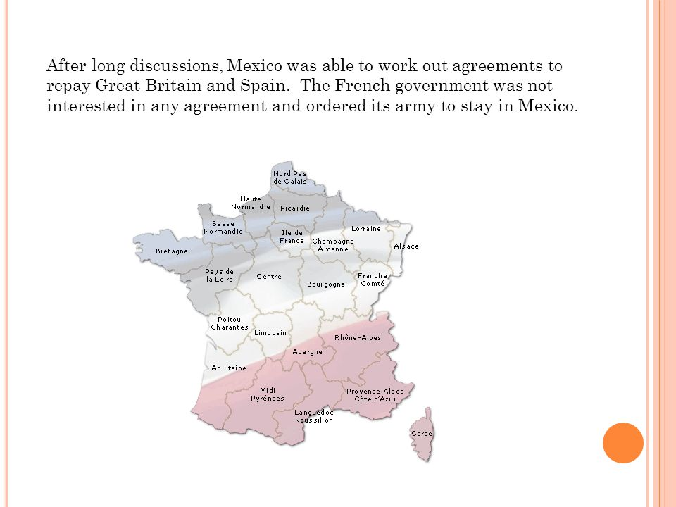 After long discussions, Mexico was able to work out agreements to repay Great Britain and Spain.