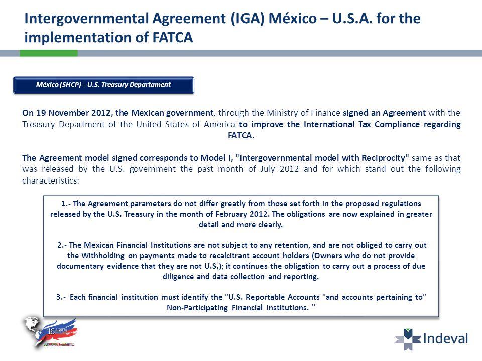 México (SHCP) – U.S.
