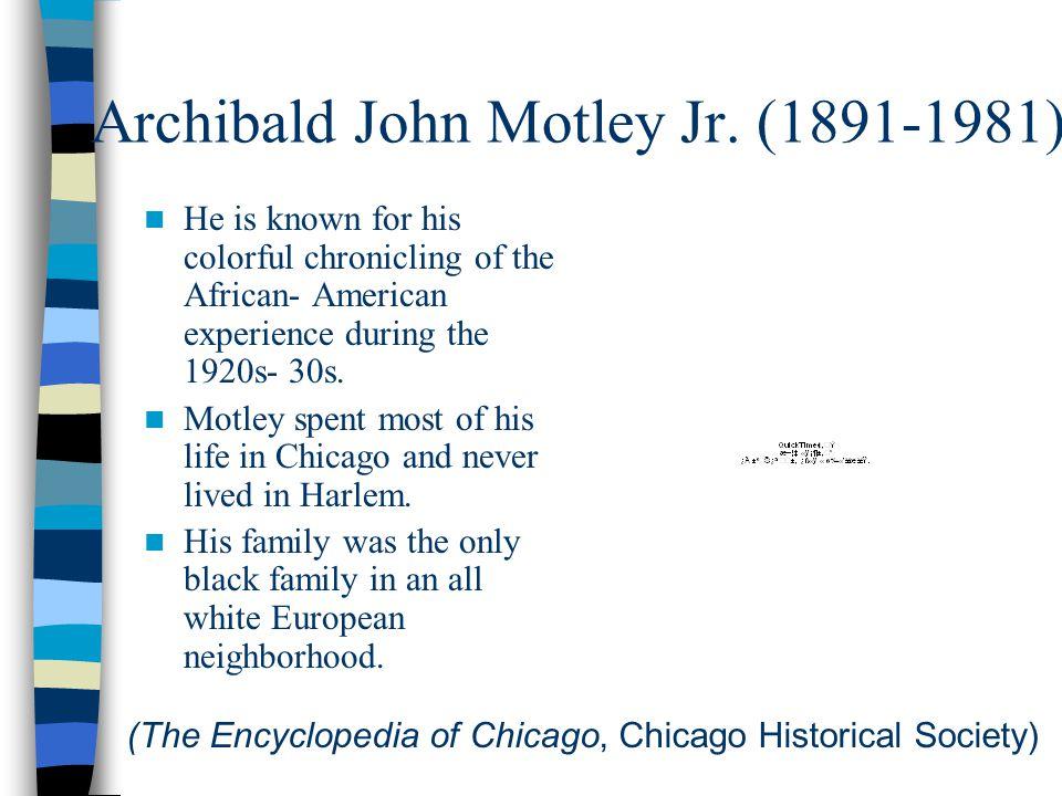 Archibald John Motley Jr.