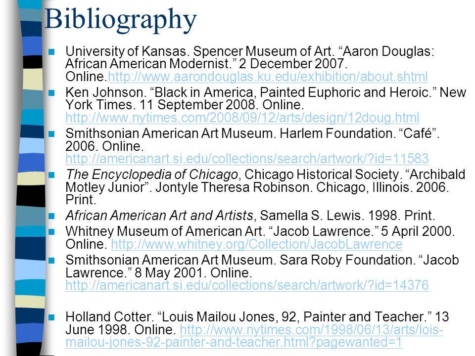 Bibliography University of Kansas. Spencer Museum of Art.