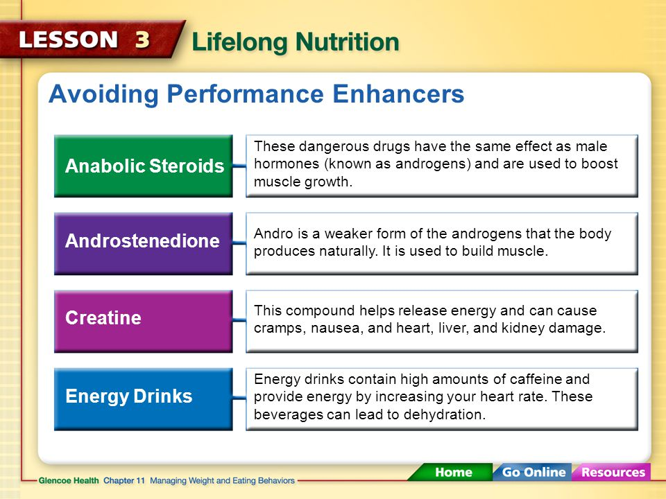 Avoiding Performance Enhancers Some athletes try to gain an extra edge by using illegal performance enhancers. Performance enhancers Substances that b