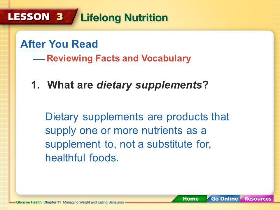 Concerns About Dietary Supplements Herbal supplements can be dangerous. Some herbal supplements have been known to cause heart attack, stroke, or seri