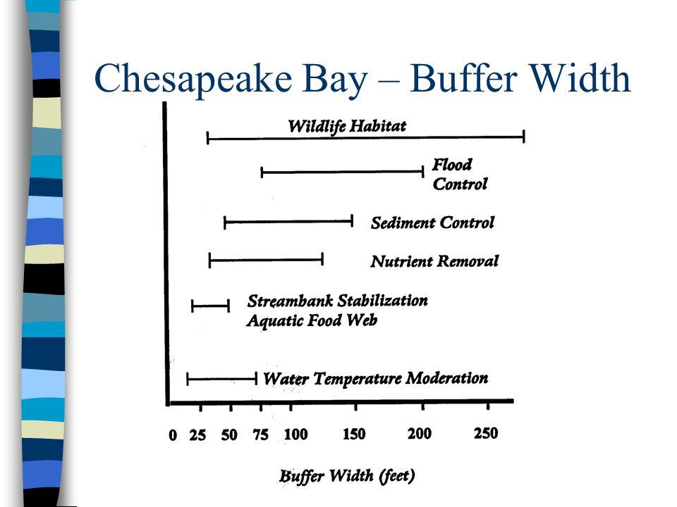 Chesapeake Bay – Buffer Width