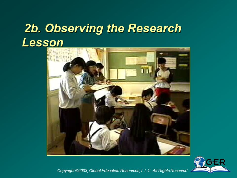 Copyright ©2003, Global Education Resources, L.L.C.