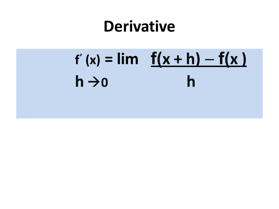 Derivatives of Trig Functions d sinx = cosx dx d cosx = -sinx dx d tanx = sec 2 x dx d secx = secx tanx dx
