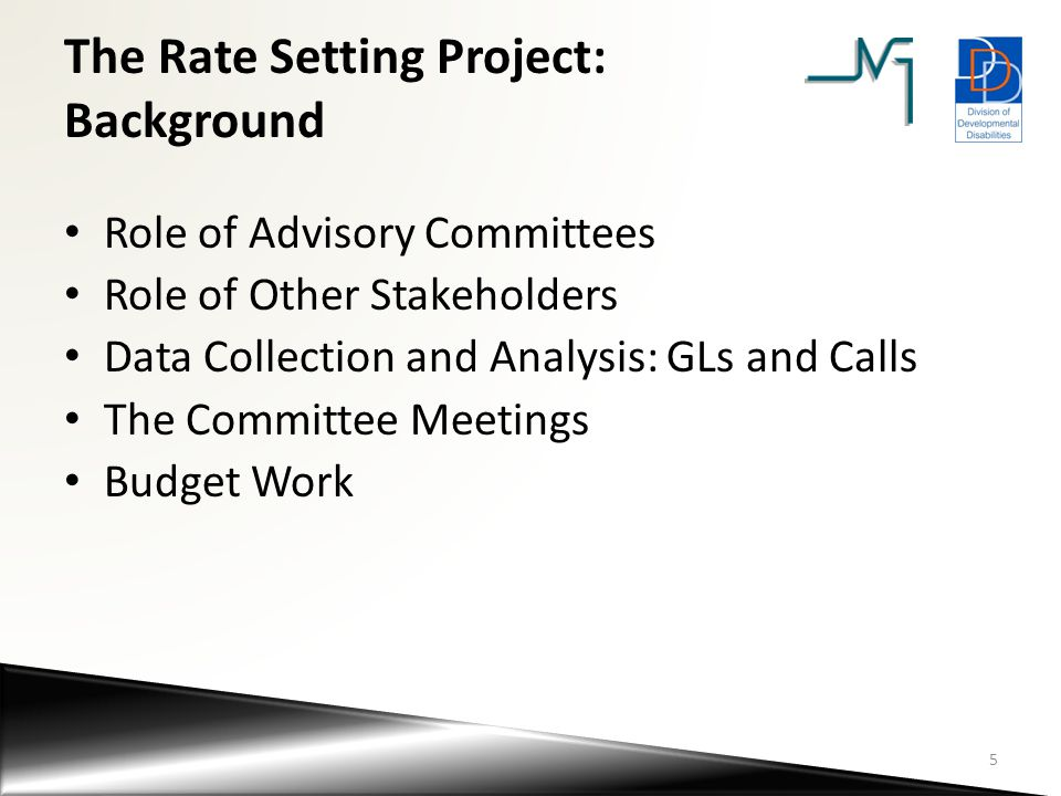 Other Key Assumptions Related to the Rate Setting Project Housing Current contract funding (~$75M) was set aside Approach will be two-fold: – Existing residential placements - combination of (1) Service Funding (FFS, rate model), (2) Contribution to Care (SS, through rep payee), and possibly (3) DHS housing subsidy (used to help bridge gaps) – New placements - long-term goal is to collaborate with the community to build a housing model that is sustainable and can be supported via Service Funding and Contribution to Care With rates now available for modeling, this will be an area of immediate discussion with the community and the new DHS Housing Unit (to determine both process and criteria around any potential use of subsidy) 16