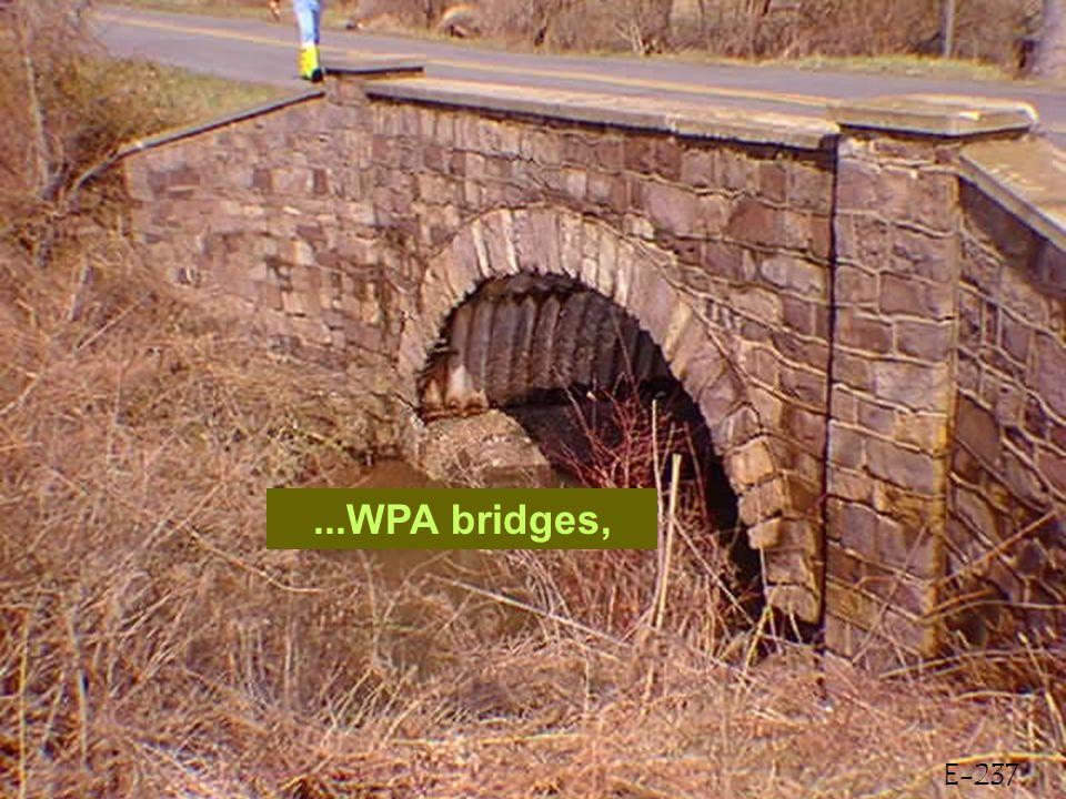 E-237...WPA bridges,