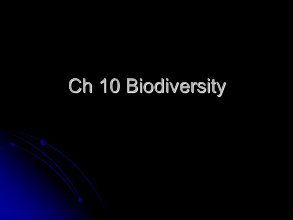 What Biodiversity Means Variety of organisms in a given area Variety of organisms in a given area Genetic variation within a population Genetic variation within a population Variety of species in a community Variety of species in a community Variety of communities in an ecosystem.