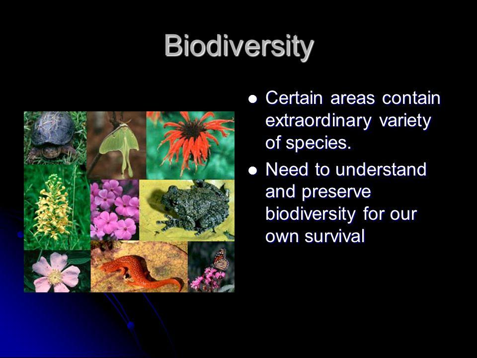 Conservation Strategies 1.