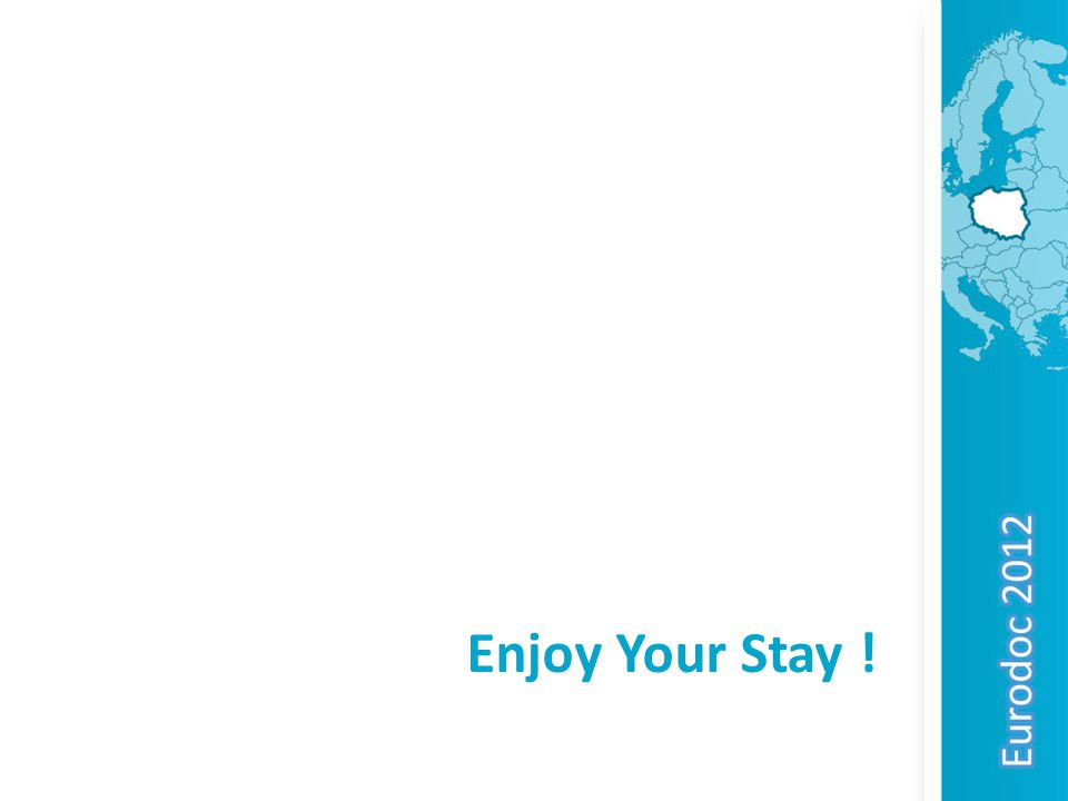 Enjoy Your Stay !