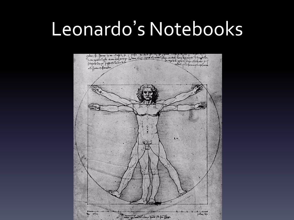 Leonardo ' s Notebooks