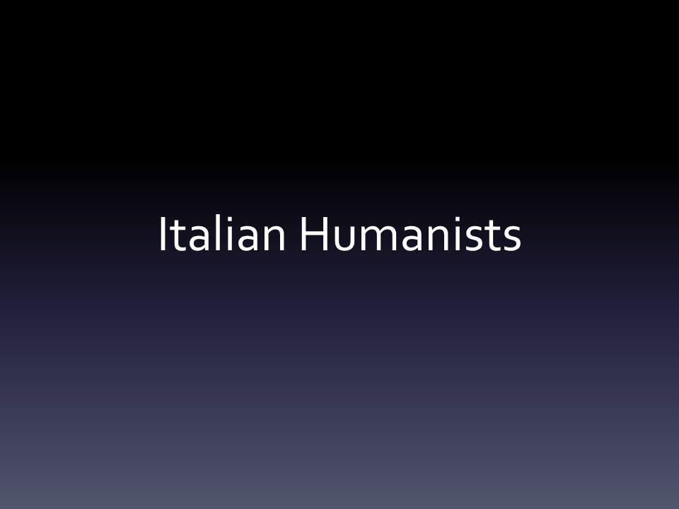 Italian Humanists