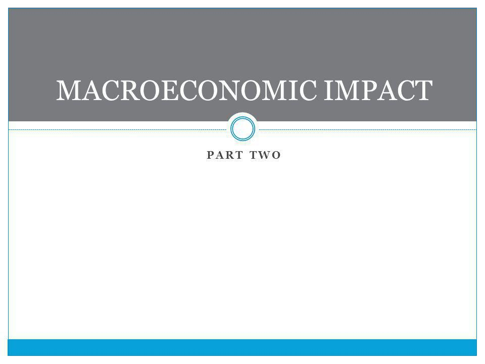 PART TWO MACROECONOMIC IMPACT
