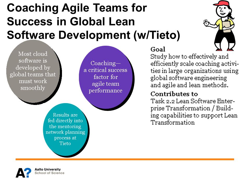 Coaching Agile Teams for Success in Global Lean Software Development (w/Tieto)