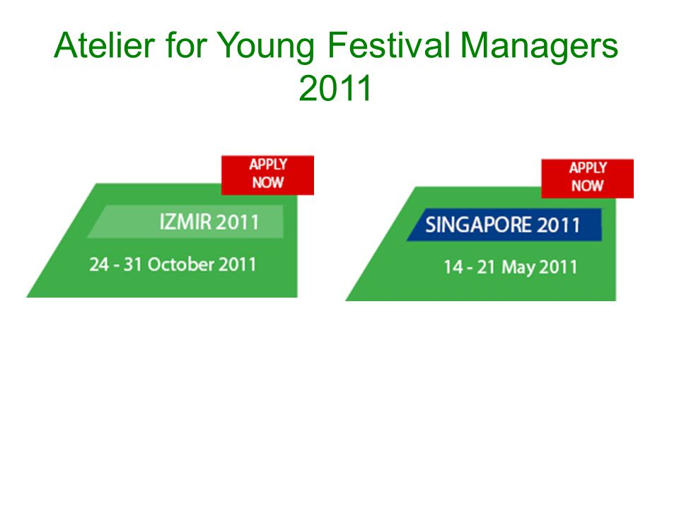 Atelier for Young Festival Managers 2011