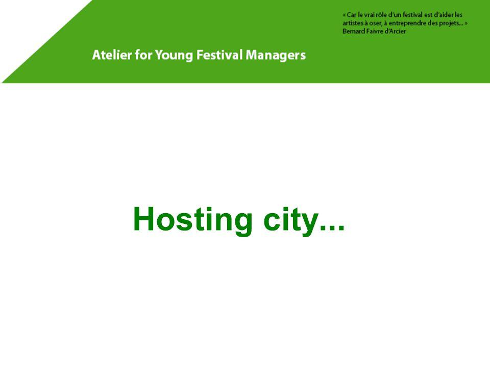 Hosting city...