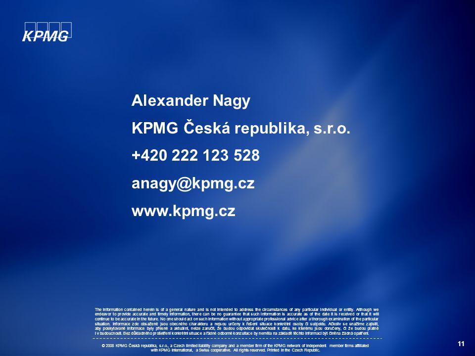 11 Alexander Nagy KPMG Česká republika, s.r.o.