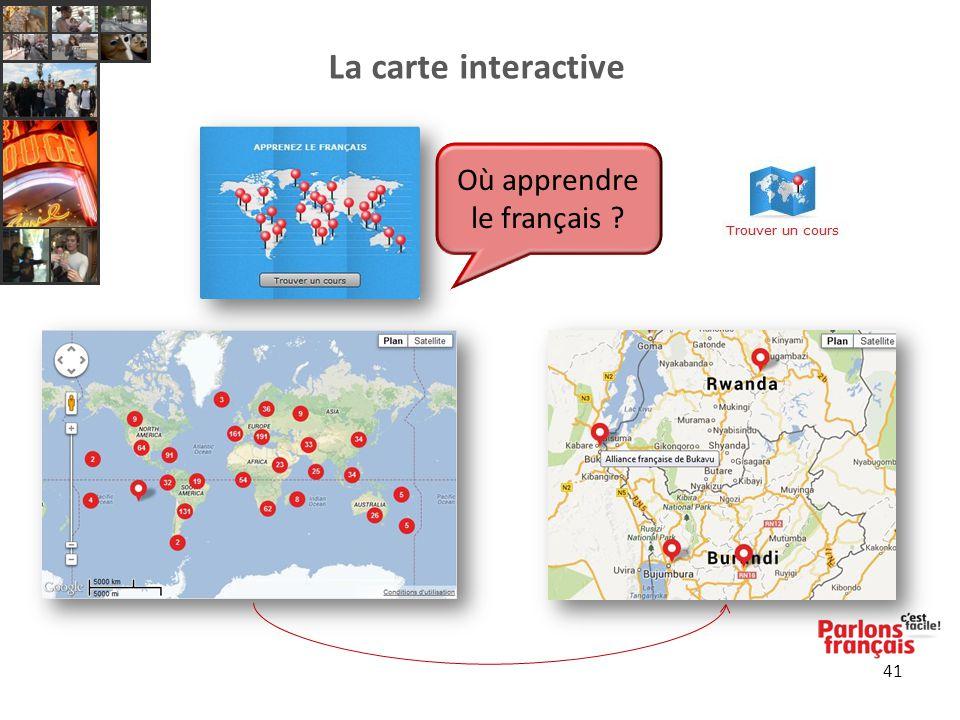 41 Où apprendre le français ?